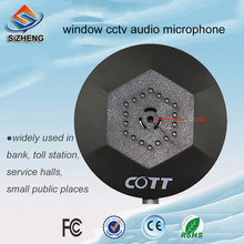 Sizheng COTT-C1 5 개/몫 실내 cctv 마이크 오디오 모니터 windows 서비스를위한 명확한 음성 cctv 사진기 체계를 붙잡으십시오