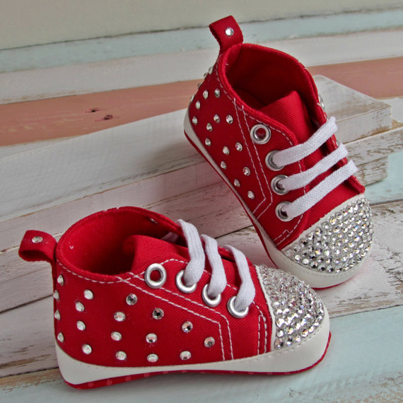 Custom Sparkle Bling pacifier out swal crystals Rhinestones Baby shoes  infant 0 1Y ribbon Princess satin bella Ballerina shoes-in First Walkers  from Mother ... 640c2b6c698e