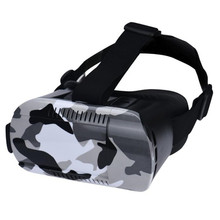 Portable Adjustable VR BOX 5 Generations Cool Virtual 3D Glasses Field Camouflage For Smartphone 3.5~6.0 inches Wholesale