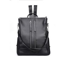 2017 Fashion Nylon Women Backpack PU Leather School Bags For Teenagers Girls Mujer Mochilas Escolar Feminina Sac a Main Femme