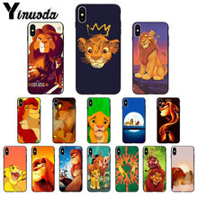 Yinuoda The lion king movie poster Coque Shell Phone Case for iPhone X XS MAX 6 6s 7 7plus 8 8Plus 5 5S SE XR(China)