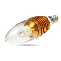 40 LED Lamp Bulb 220V E14 5W Chandelier Candle Dimmale LED Light Bulb Spotlight With Remote