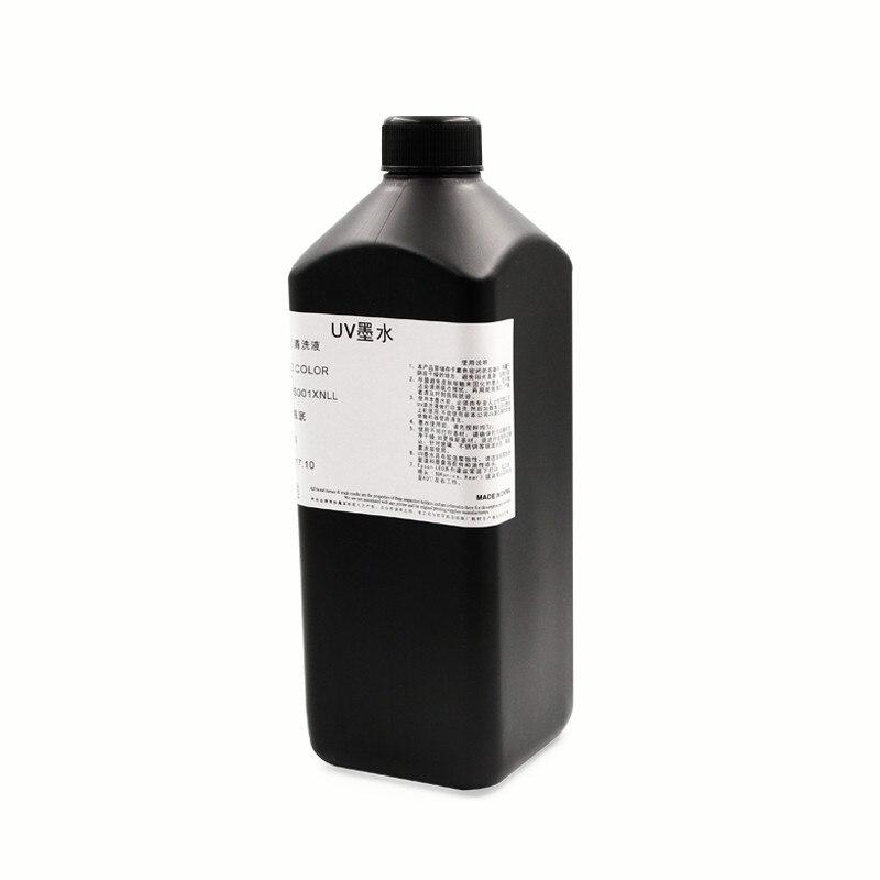 500 ml LED UV Tinte Druckkopf und Rohr Reiniger Lösung Flüssigkeit für Roland für Mimaki Mutoh Ricoh Drucker Reinigung Flüssigkeit kit 1000 ml