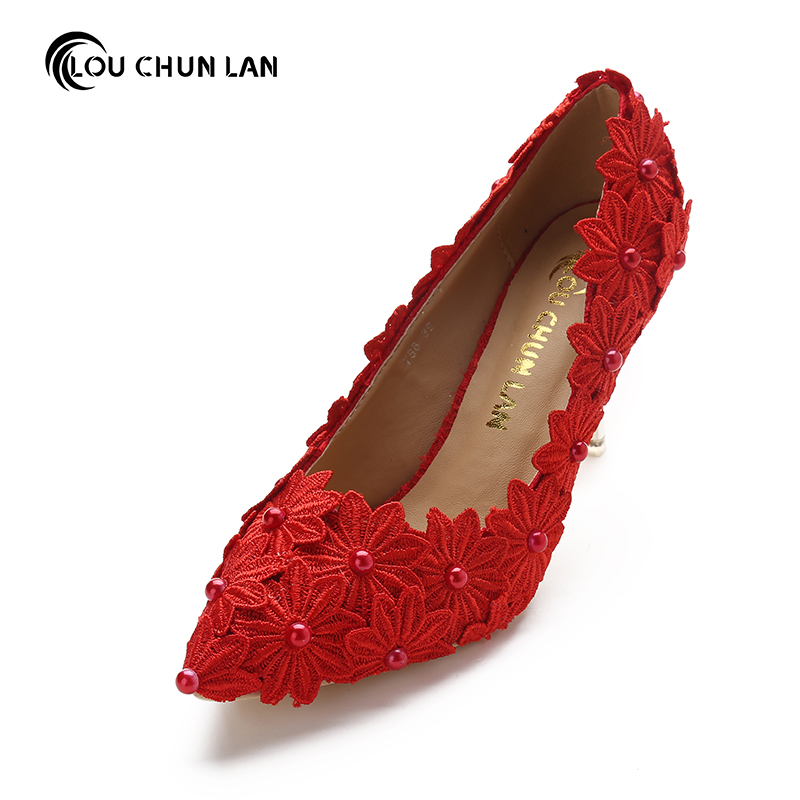 LOUCHUNLAN Women Pumps Shoes High Heels Wedding Shoes Elegant Rhinestone Round Toe Shoes Free Shipping Party shoes high quality women shoes colorful rhinestone shallow mouth high heels mature women pumps round toe slip on party wedding shoes