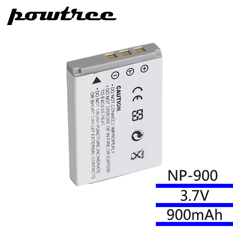 7,3 V 900 mAh Batterie für Minolta NP-900 VE40 E50 AIGO V760/880/1080/T35 BENQ E40/E43/E50/E63/C500/T5/E720/E820/E1000 PENTAX 53 S