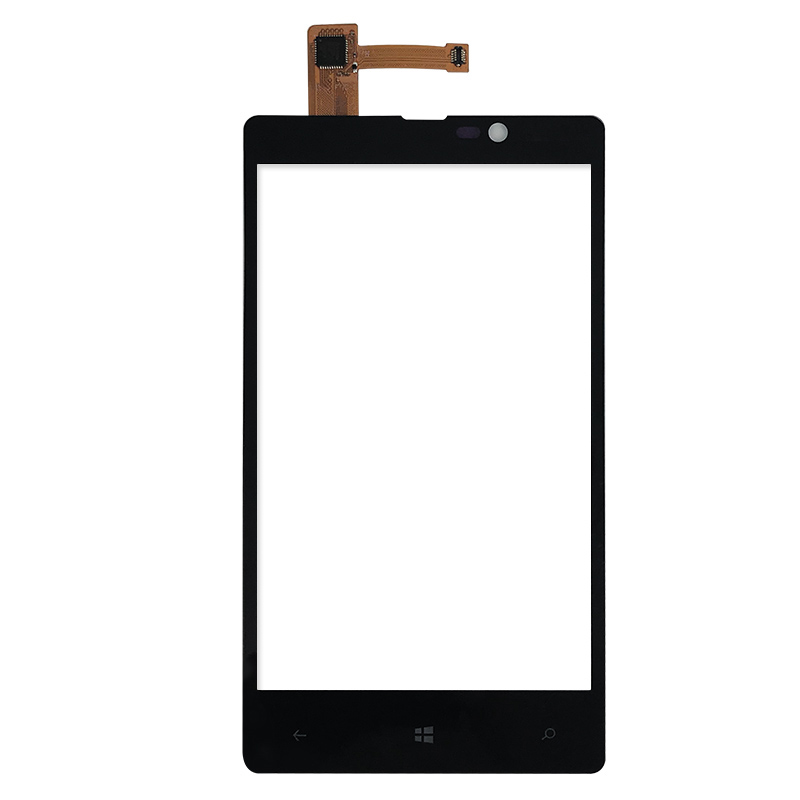RocknParts High Quality 4.3'' FOR Nokia Lumia 820 N820 Touch Screen Front Glass Lens Panel FREE SHIPPING