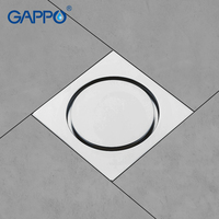 GAPPO Drains Anti odor bathroom floor drain shower floor drains bathroom plugs shower bathroom drain stoppers