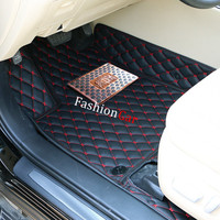 Car Floor Mats For 7 Seats For TOYOTA Corolla 2004 2005 2006 2007 Car Styling Foot