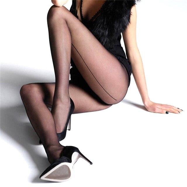 302dfc629 € 6.26 |Comercio al por mayor 3 unids clásico sexy medias panti mujeres  medias reparar la pierna mostrar thin diseño especial de encaje back line  ...
