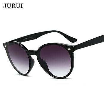 7e677bfcc2 2019 gafas de sol redondas de lujo para mujer de marca de diseñador ojo de  gato gafas de sol Retro gafas de sol para mujer 2019 damas de zonnebril