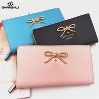 Wallet Case For XIAOMI Redmi 4x Note 4 IPhone X 8 7 Plus Card Pocket Bowknot