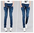 New 2016 Korean Fashion Jeans Women's Casual Loose Harem Pants Slim Denim Jeans Women Plus Size loose Pencil Trousers LY393