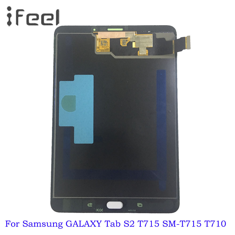 For Samsung GALAXY Tab S2 T715 SM-T715 LCD Display Touch Screen Digitizer Sensors Assembly Panel Replacement For Samsung GALAXY Tab S2 T715 SM-T715 LCD Display Touch Screen Digitizer Sensors Assembly Panel Replacement