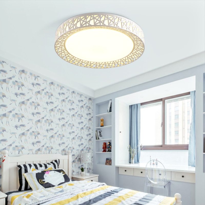 12/24/36W Remote Controller LED Ceiling Lamp Dimming Chandelier LED Light Fixture Home Living Bedroom Lighting 80-240V