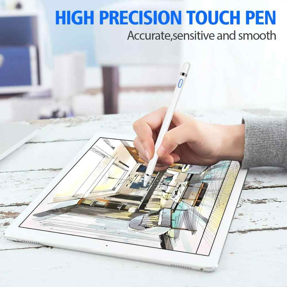 نشط قلم اللمس القلم ل أي باد برو من أبل 11 12.9 10.5 9.7 miini 5 الهواء الذكية السعة قلم ل فون هواوي Xiaomi اللوحي