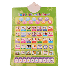 Russian English Learning Machine Electronic Baby Alphabet Music Toy Educational Phonetic Chart Early Language Sound Toy