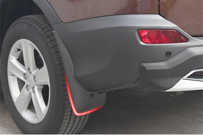 Splash Guard Car >> Us 41 34 32 Off For Toyota Rav4 Rav 4 Molded Car Mud Flaps Mudflaps Splash Guards Flap Mudguards Fender Front Rear Car Accessories In Chromium