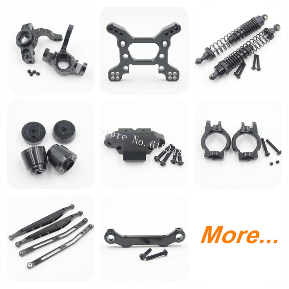 AXIAL Yeti Option Parts Upgrade Aluminum Metal For RC 1/10th Scale Electric 4WD Crawler Rock Racer RTR Kit AX90026 AX90025 CNC front lower suspension control a arms aluminum for rc car 1 10 axial yeti rock racer buggy crawler upgraded hop up parts ax90026
