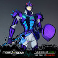 Excesso de velocidade CS Modelo Nórdico Myt Midgard Gamma Phecda Thor Pano Mito Saint Seiya Deus Guerreiro Armadura De Metal