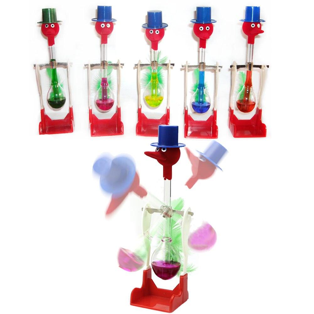 3d0133a244d 1 pc Não Parar de Beber Vidro Líquido Movimento Perpétuo Pássaro Sorte  Brinquedo De Mesa Pato Novo em Truques De Mágica de Brinquedos no  AliExpress.com ...