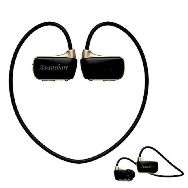 Avanshare W273 Sports Mp3 player earbuds headset 8GB NWZ-W273 Walkman Running earphone Mp3 music player headphone Free shipping