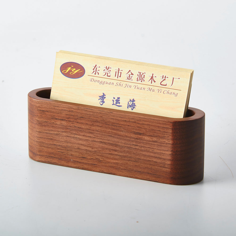 Wood Business Names. Wooden Business Card Holder With Engraved Name ...
