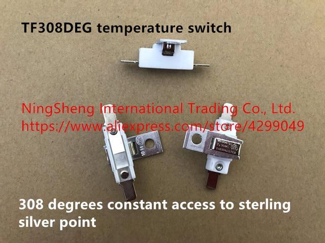 기존 100% TF308DEG 온도 스위치 308 일정한 접근 스털링 실버 포인트