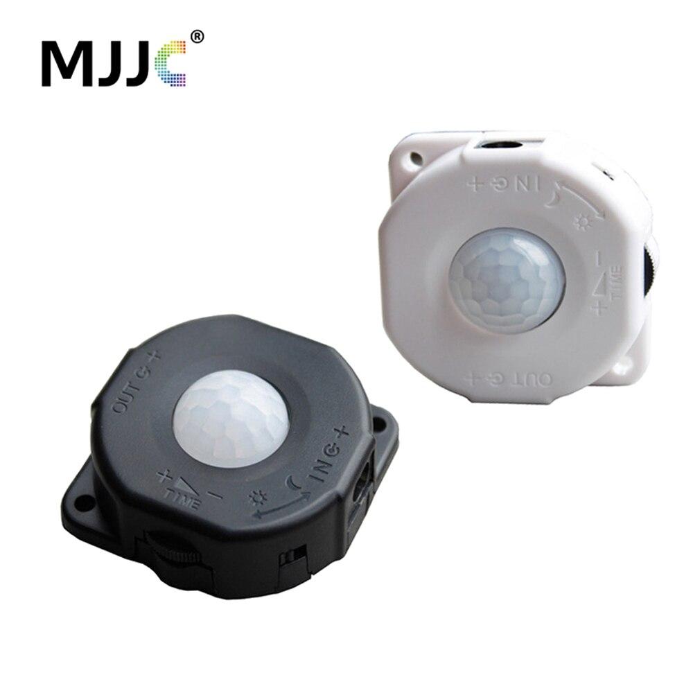 Bewegungsmelder Lichtschalter 12 V Bewegung Bewegungsmelder 5 V 12 V PIR Sensor 24 V 5A Automatische Infrarot Timer Detektor Photo