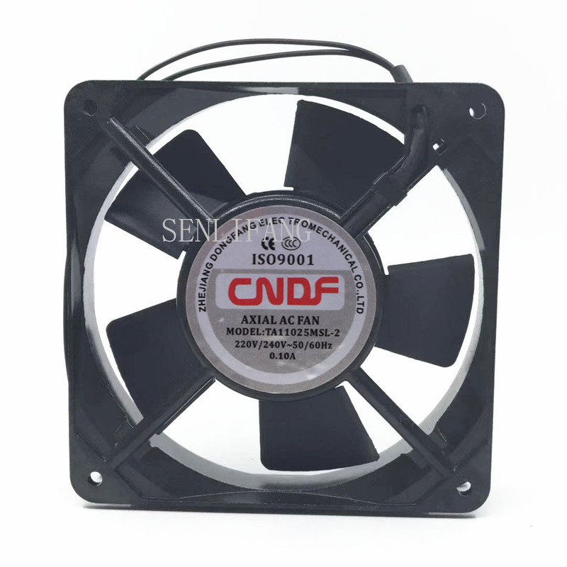 For CNDF TA11025MSL-2 AC 220V 0.10A 110x110x25mm Server Square Fan