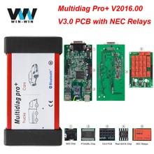 Multidiag Pro+ V3.0 V2016.00 Keygen NEC Реле для автомобилей/грузовиков для BMW OBD OBD2 Bluetooth сканер автомобильный диагностический инструмент