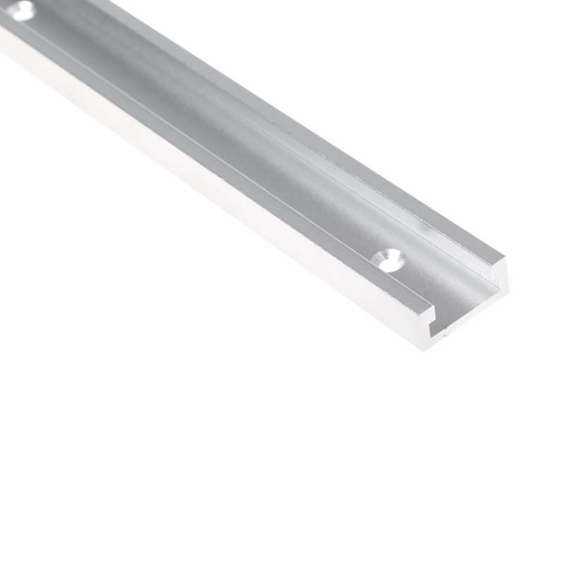 T-tracks Aluminum Slot Miter Track Jig Fixture 400/600mm For Router Table Bands