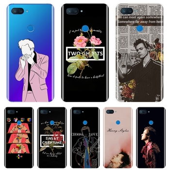 Funda de teléfono suave de silicona para Xiaomi Mi 5 5C 5S 5X 6 6X 8 SE A1 A2 Lite Mi5 Mi6 Mi8 una dirección Harry estilos cubierta