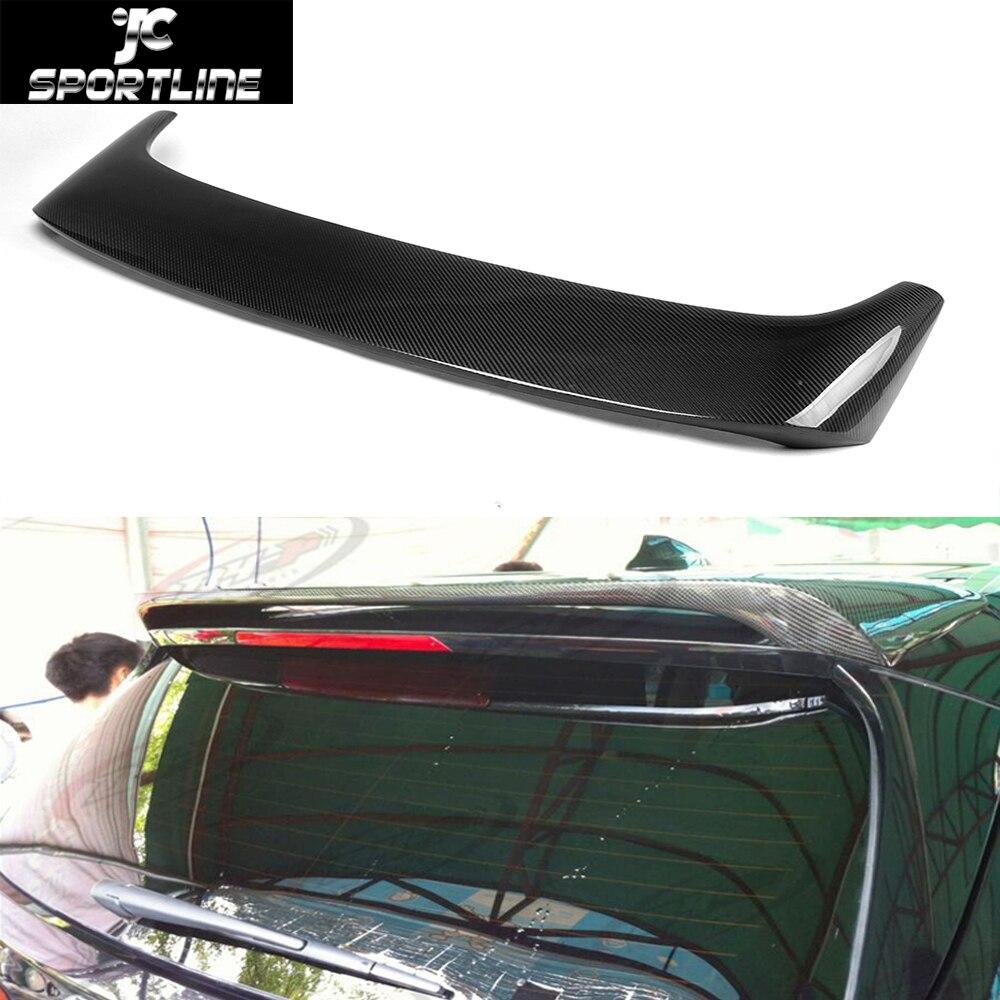 Автомобиль Стайлинг углеродного волокна авто крыши крыла Спойлер для BMW F15 X5 2014UP