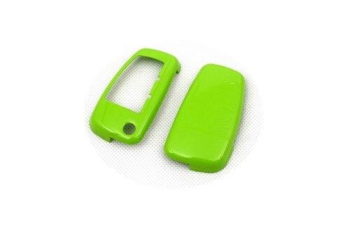 Жесткий пластиковый БЕСКЛЮЧЕВОЙ дистанционный ключ защитный кожух(глянцевый зеленый) для Audi