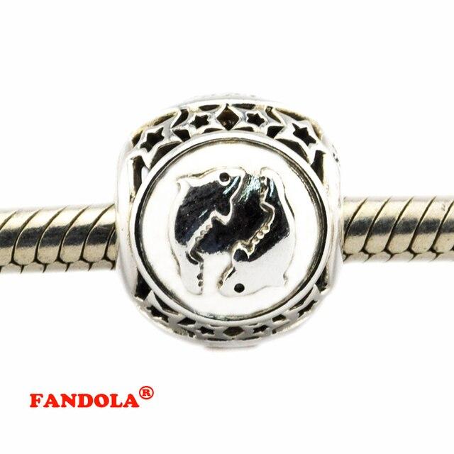 d64c4e238307 € 10.24 18% de DESCUENTO|Piscis estrella perlas encanto DIY adapta Pandora  Original pulsera de encantos de la joyería de la plata esterlina 925 ...
