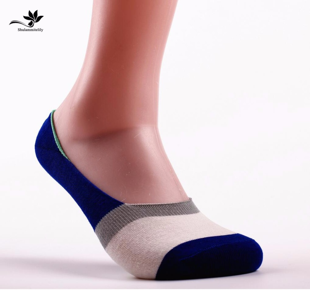 7pairs/lot Free Shipping Socks Men Hot-sell Socks Classic Male Brief BAMBOO Cotton Invisible Man Sock Slippers Shallow Mouth