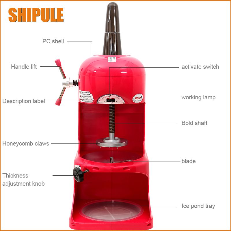 Commercial use Ice Shaver machine ,Ice Crusher Machine,ice shaving machine Snow Cone Maker edtid electric commercial cube ice crusher shaver machine for commercial shop ice crusher shaver