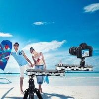 Новый Commlite 4-раза расстояние Выдвижной мини-Алюминий сплав Видео слайдер для DSLR Камера Micro Камера смартфон