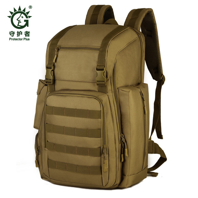 Men's bags new military nylon 40 liters backpack backpack camouflage 17-inch laptop water proof Travel bag girls free shipping