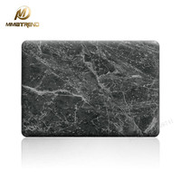 Mimiatrend 2016 NEW Black Marble Grain 3D Matte Case For Apple Macbook Air Pro Retina 11