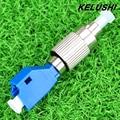 KELUSHI Visual Fault Locator Medidor de Potencia Óptica Adaptador de 2.5mm A 1.25mm FC LC Adaptador Híbrido de Fibra Óptica Monomodo adaptador