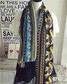 Protector solar Ropa De Moda Del Algodón de Invierno Bufanda Foulard Bufandas Diseñador de Las Mujeres Chales de Pashmina y Bufandas Suave Para El regalo
