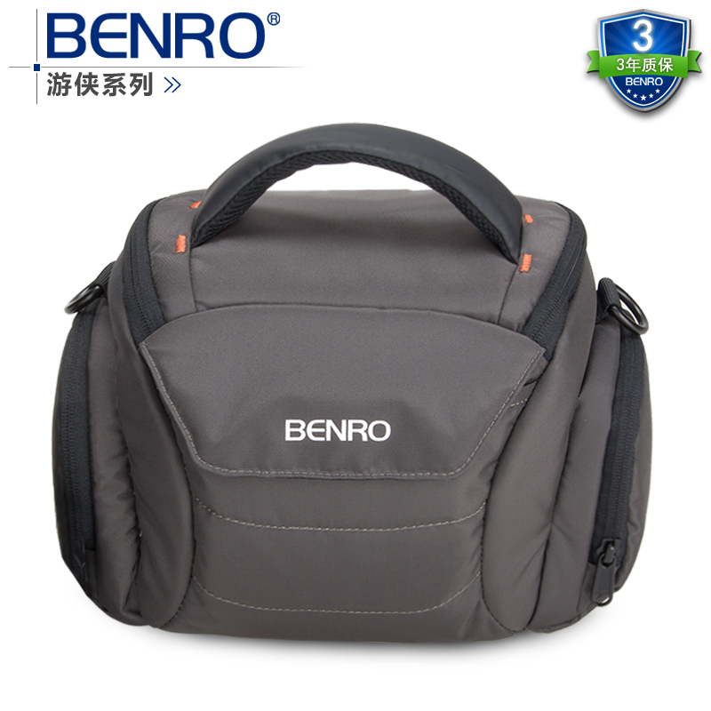 Benro paradise ranger s30 one shoulder professional camera bag slr camera bag rain cover bagsmart dslr slr camera shoulder bag water repellent polyester with rain cover green grey black