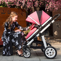 Winter and Summer Baby stroller folding two-way the 4runner push baby car shock absorbers dual-use baby car