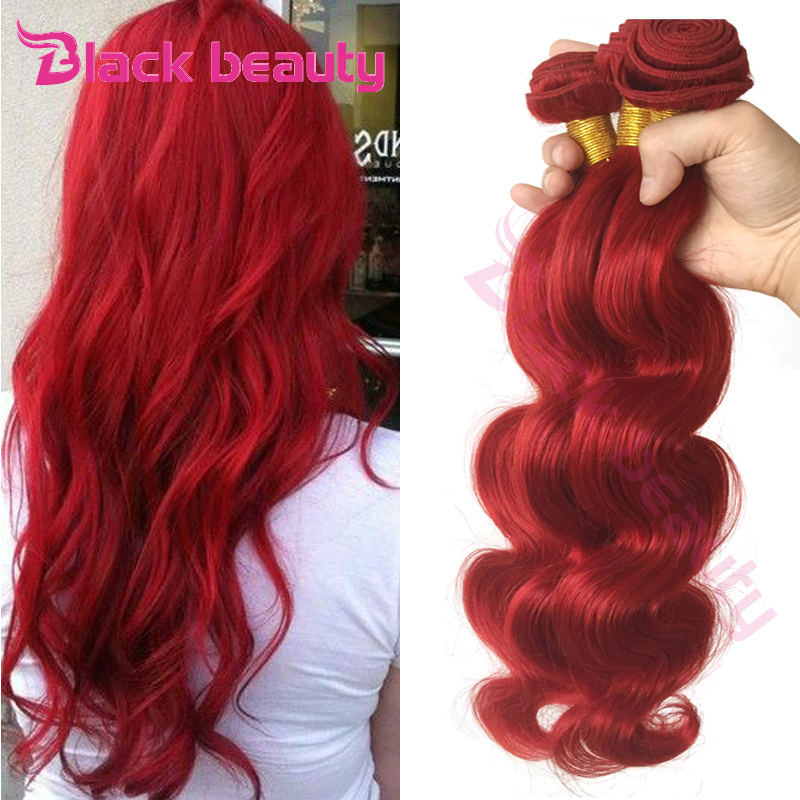 8A Grade Brazilian Red Hair Bundles Brazilian Virgin Hair