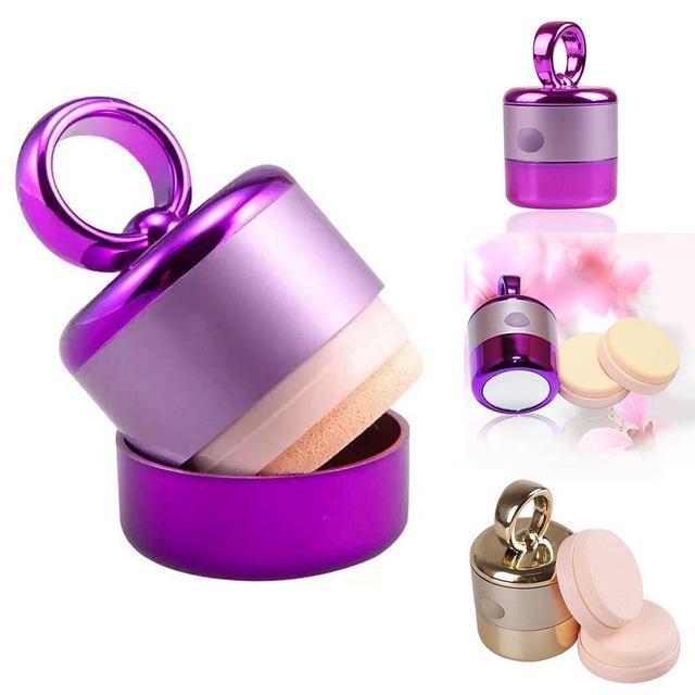 Electric Puff Sponge Powder Vibration Foundation Cream Cosmetics Makeup Tool Personal, Professional, etc 1 PC 5