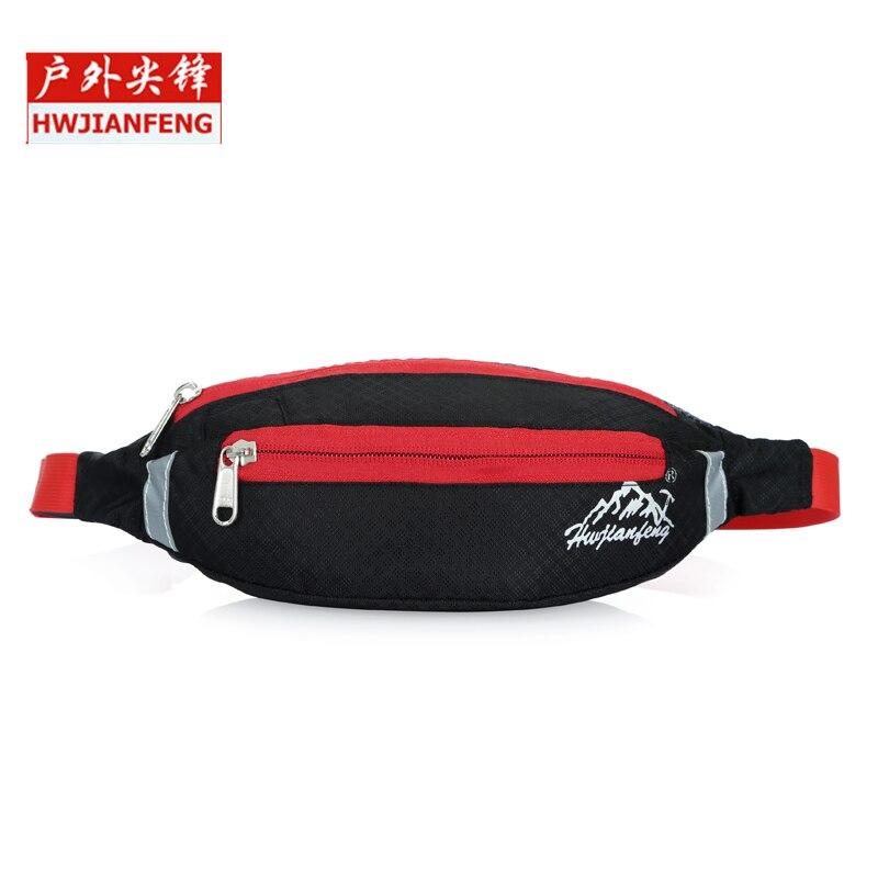 2017 Unisex Running Bum Bag Travel Handy Hiking Sport Waist Belt Zip Fanny Pack Outdoor Bag Hot Sale