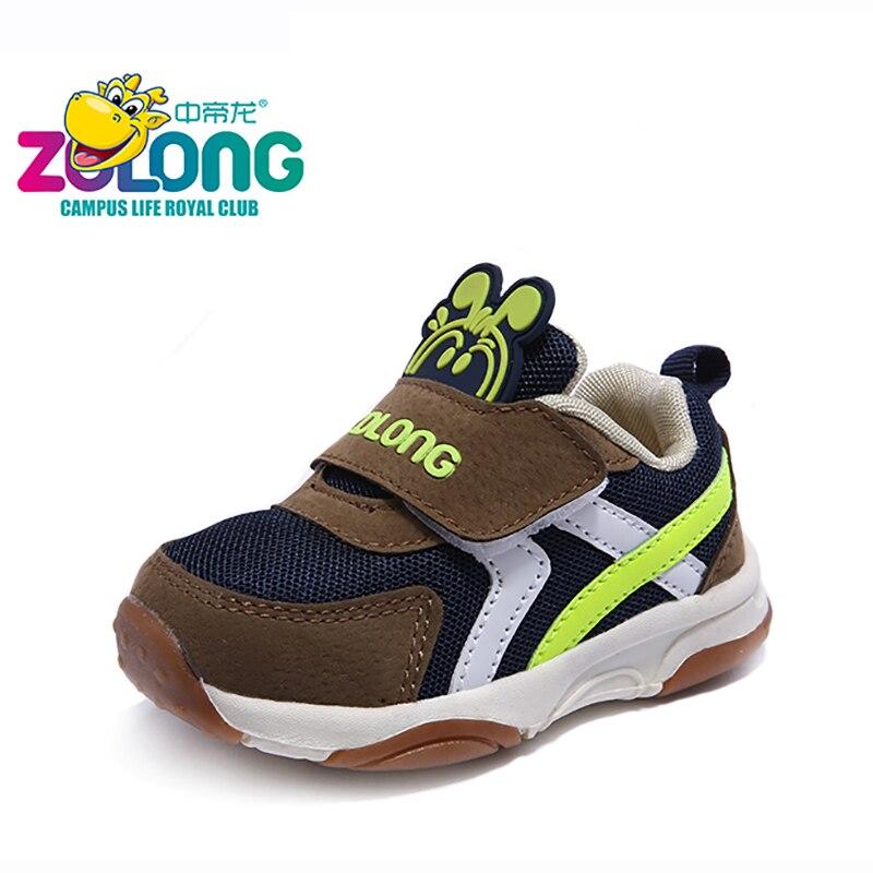 Обувь для детей для От 1 до 4 лет дышащие сетчатые Hook & Loop модная повседневная обувь мультфильм Теннис мальчик Кроссовки 2018 новые весенние