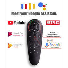 L8star G30 A Distanza di controllo 2.4G Wireless Voice Air Mouse 33 tasti di apprendimento IR Gyro Sensing Smart Remote per il Gioco android tv box(China)