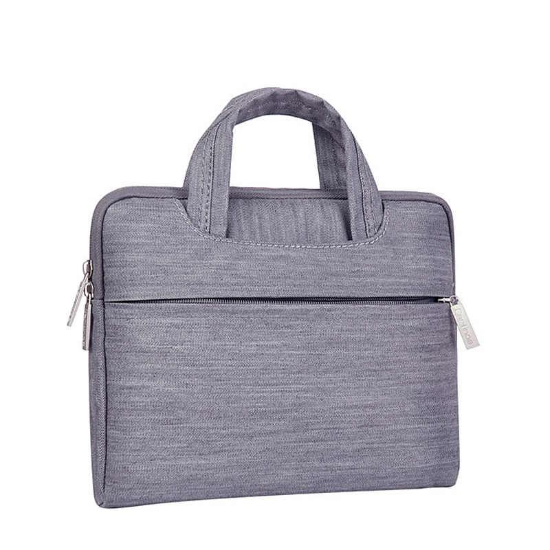 Cartinoe marka 11 12 13 15 cal torba na laptopa etui na Macbooka Air Pro Retina Xiaomi ASUS HPNotebook torba na komputer dla mężczyzn kobiety